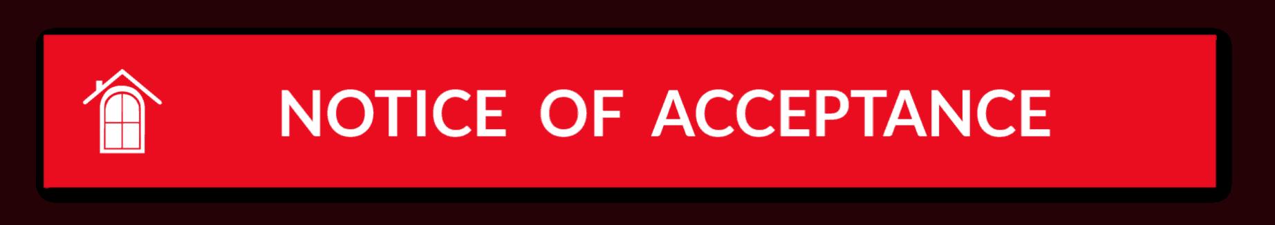 NOTICE ACCEPT HEADER